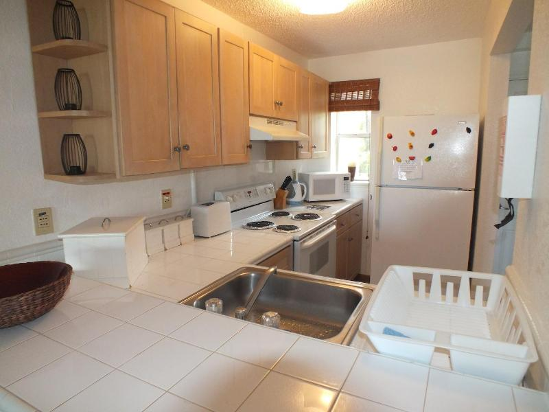 Fully Equipped Kitchen - Villa 239F, South Finger, Jolly Harbour - Five Islands Village - rentals