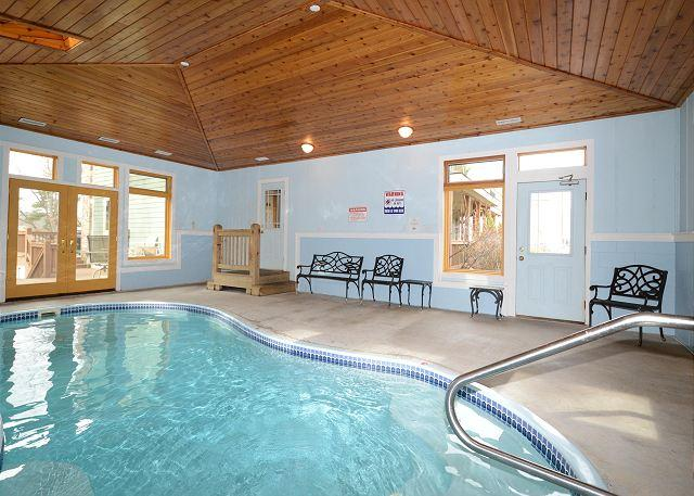 Indoor Pool - An Unforgettable Home; 2 Hot Tubs, Private Indoor Pool, 2 Dock Slips & MORE!! - Swanton - rentals