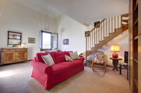 living room - Nice two-room apartment near the Duomo - Florence - rentals