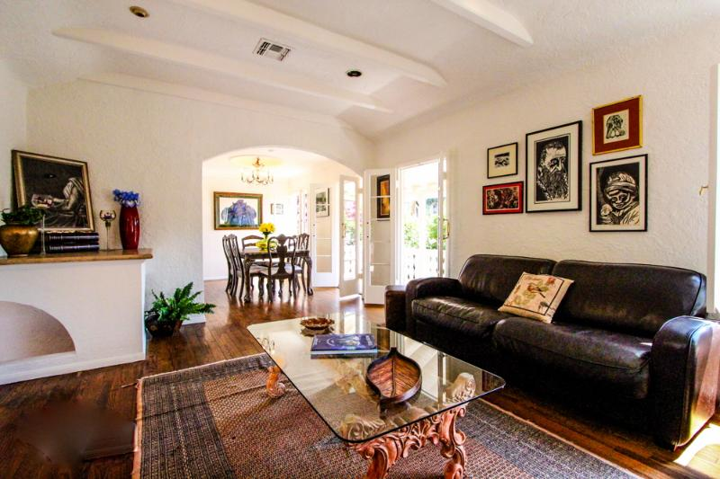 Living room flows into dining area - Awards Season and Holidays in Hollywood Hills! - Los Angeles - rentals