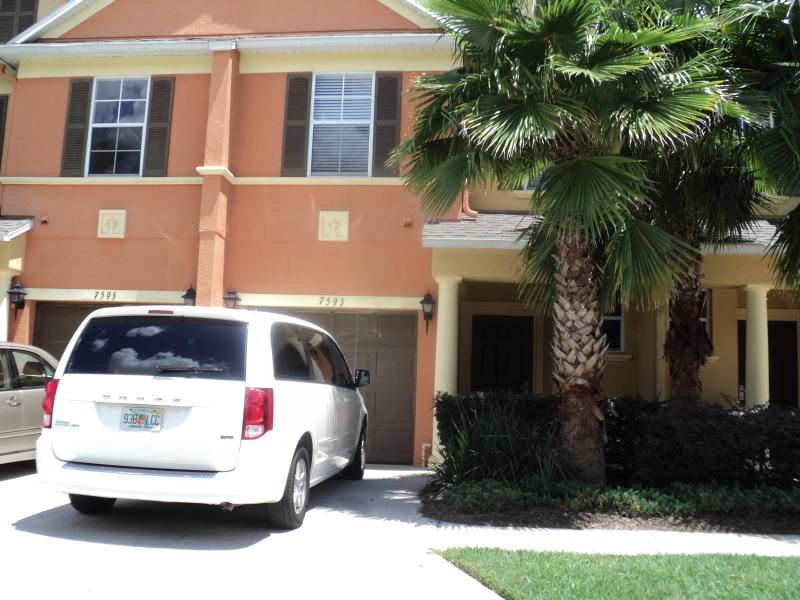 Front of the property - LUXURY DISNEY VACATION HOME IN REUNION RESORT FL. - Reunion - rentals