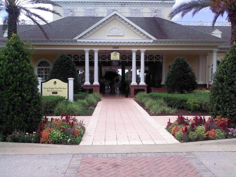 Reunion Resort ,Seven Eagles Pavilion clubhouse - LUXURY DISNEY VACATION HOME IN REUNION RESORT FL. - Reunion - rentals