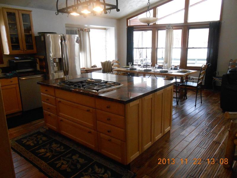 new hard wood flooring and stainless steel kitchen with double wall oven - GREAT FAMILY HOME  BOOK NOW ..Happy Holidays - Steamboat Springs - rentals