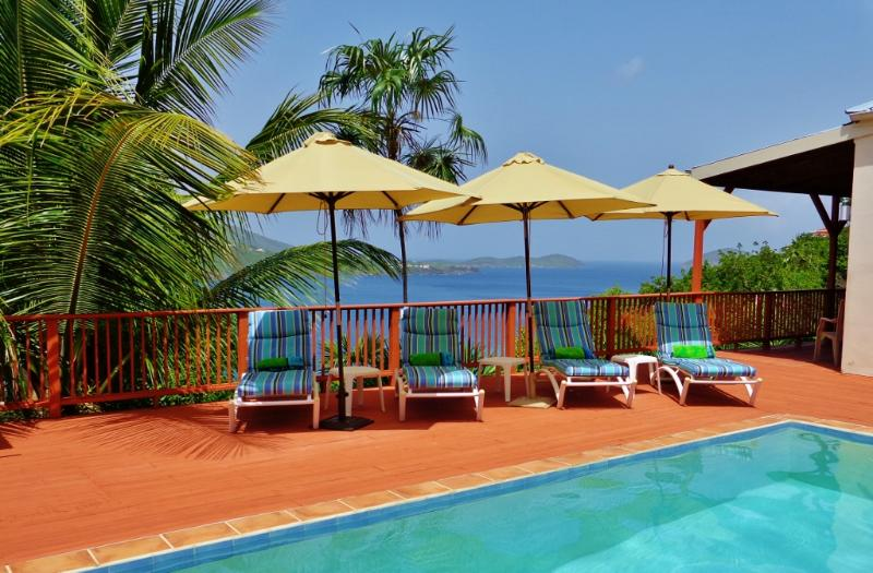 So peaceful and relaxing. - Beautiful Villa on Magen's Bay, Pool, Amazing View - Magens Bay - rentals