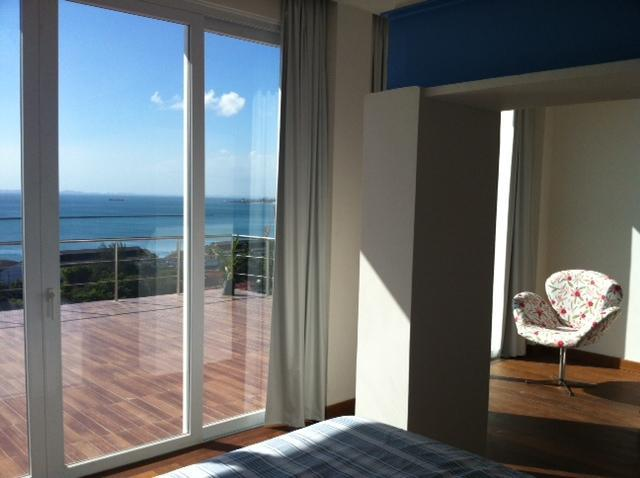 Master room and terrace (lower floor) - Luxury duplex,Pelorinho with amazing ocean view - Salvador - rentals