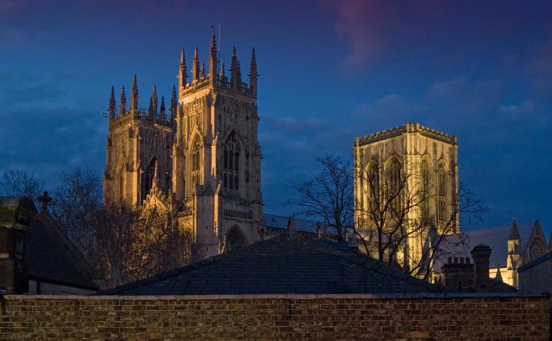 View of York Minster from Master Bedroom - Blake Mews, York - York - rentals