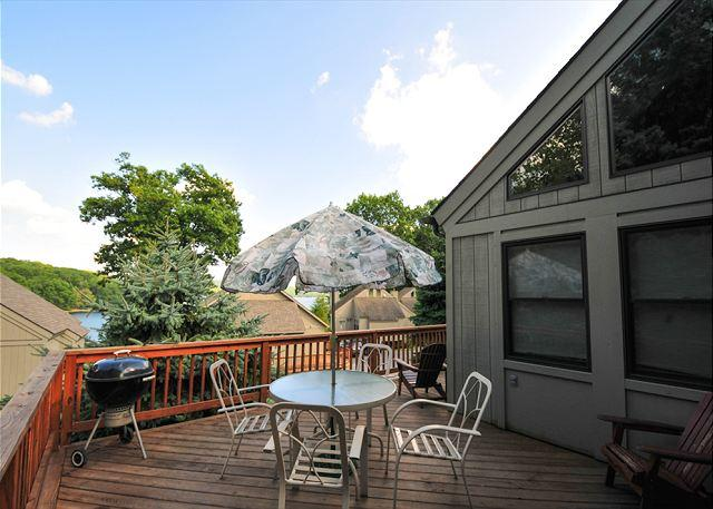 Deck View - Bear Feet - Oakland - rentals
