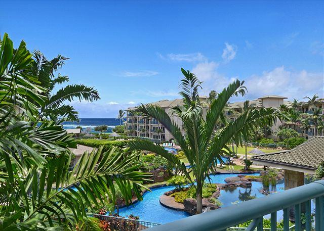 ONE Bed OCEAN & POOL view INTERIOR *** CALL NOW - Image 1 - Kapaa - rentals