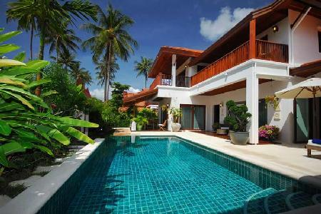Secluded Baan Chaaba on lush tropical grounds with zen courtyard & serene pool - Image 1 - Koh Samui - rentals