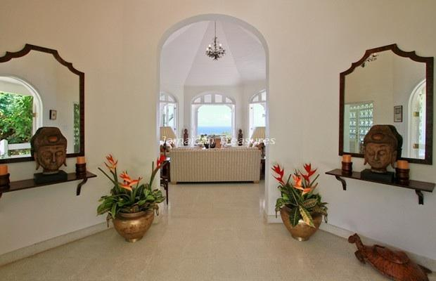 indoor foyer entrance - Jamaica Villa Nutmeg, Montego Bay, Jamaica - Montego Bay - rentals