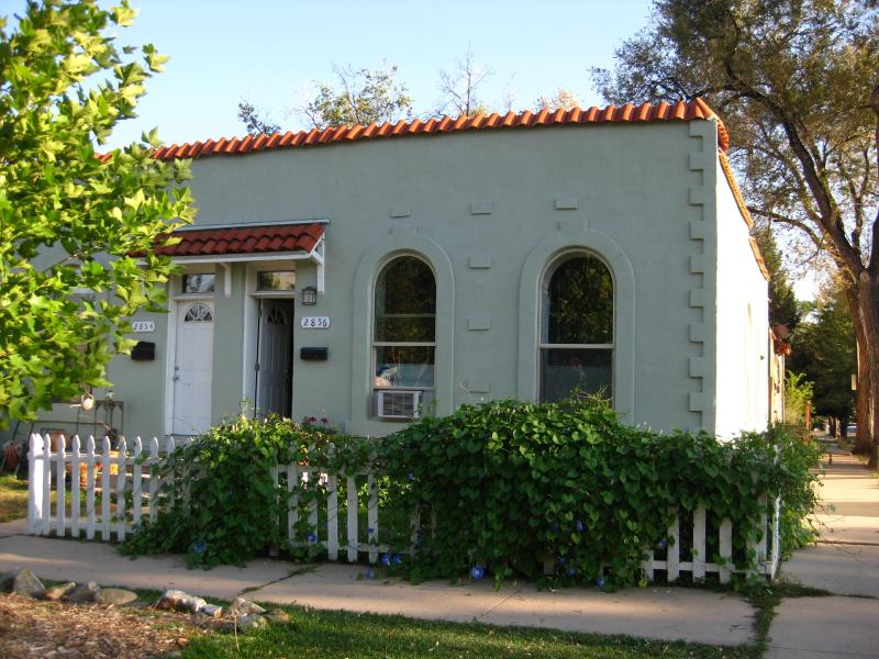 Outside view of the 1890's adobe duplex - Comforts of Home, Close to Downtown! - Denver - rentals