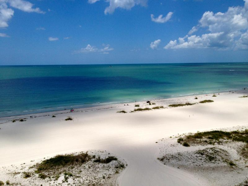 Balcony View - Sand Key - Lighthouse Towers Beachfront Condo - Clearwater - rentals