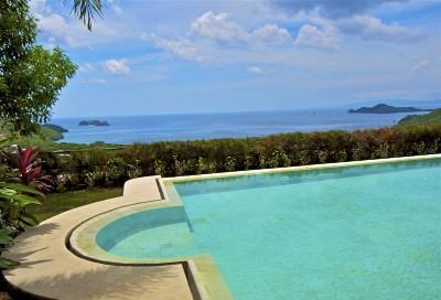 Luxury  4 bedroom Ocean view Villa - Image 1 - Playa Hermosa - rentals