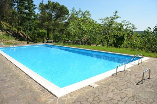 Swimmingpool - Typical house with lovely view and swimmingpool - Cortona - rentals