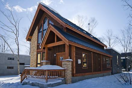 Exterior - Gouka Lodge luxury four bed ski chalet in Niseko - Niseko-cho - rentals