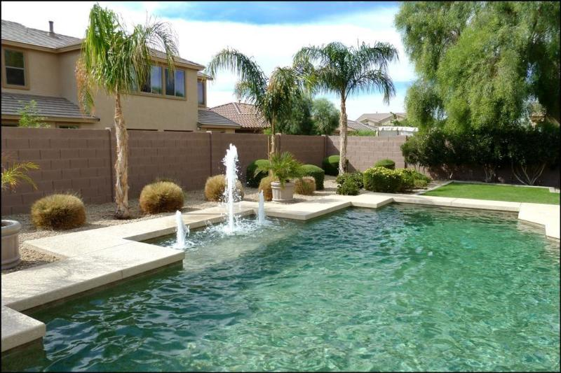Large Shasta heated pebble tech pool - FLORENCE ESTATE in Goodyear with resort backyard - Goodyear - rentals
