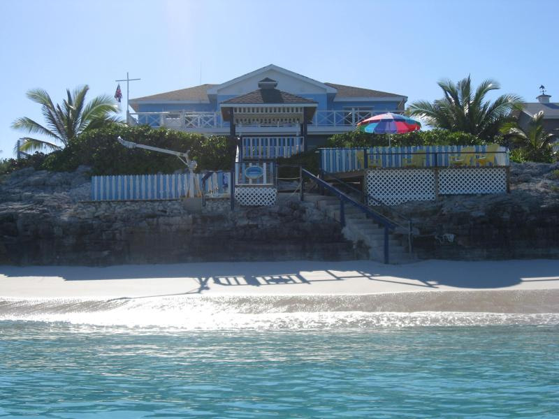 View from the ocean - Fantastic Beachfront property! - George Town - rentals