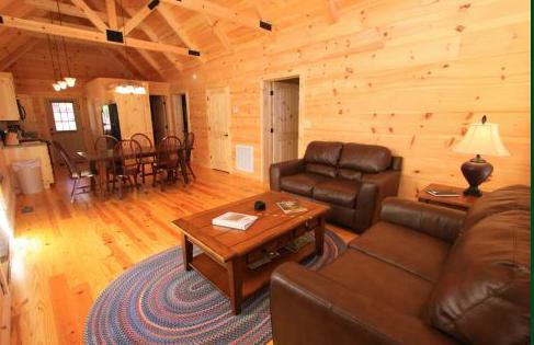 den and dining great room - Wilkes Burrow-close to the lake and playgound. Pets ok - Sapphire - rentals