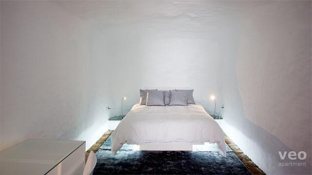 Bedroom. - Sacromonte Cueva 2 | Romantic designer cave - Granada - rentals