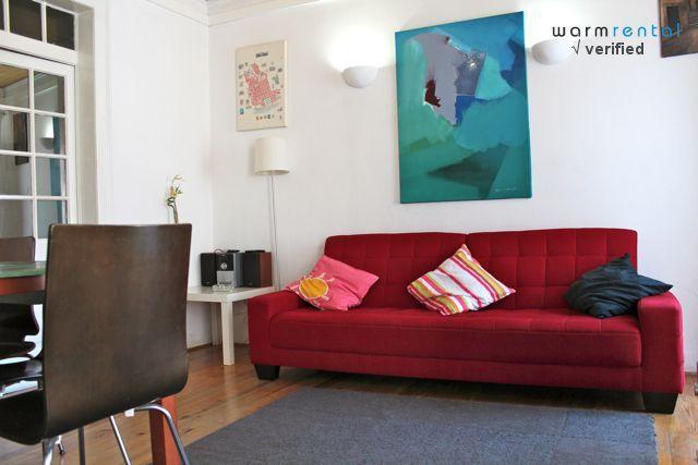 Living Room - Green Pepper Apartment, Bairro Alto, Lisbon - Lisbon - rentals