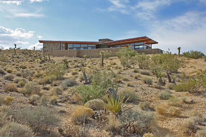 Jackrabbit Wash - Modern Architectural Desert Retreat with Pool - Joshua Tree - rentals