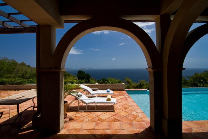 Luxury Bequia villa on 10 acres, infinity pool, gazebo, 4 Bedrooms, 2 Receptions, 4 Bathrooms (v) - Image 1 - Port Elizabeth - rentals
