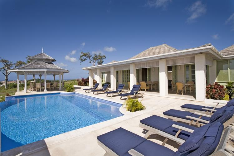 5 bedrooms all en suite, 4 receptions, pool, sea views, colonial style, modern technology (v) - Image 1 - Saint Vincent and the Grenadines - rentals