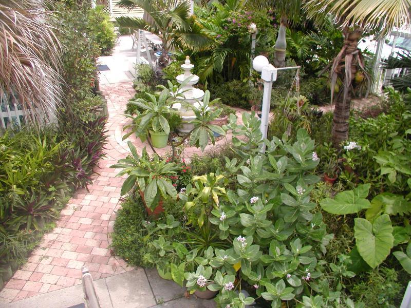 """Entrance - Cocoa Beach, 7 Blks So. Discover our """"hidden gem"""", a Comfy,Cozy 2BR1BA """"hometel"""" - Cocoa Beach - rentals"""