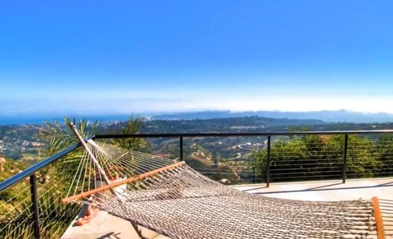 View from the upstairs deck - Sanctuary Paradise Incredible Views - Santa Barbara - rentals