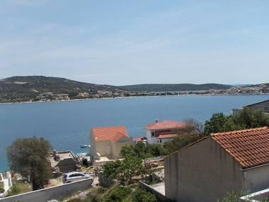 A1(4+2): terrace view - 5855 A1(4+2) - Cove Ostricka luka (Rogoznica) - Cove Kanica (Rogoznica) - rentals
