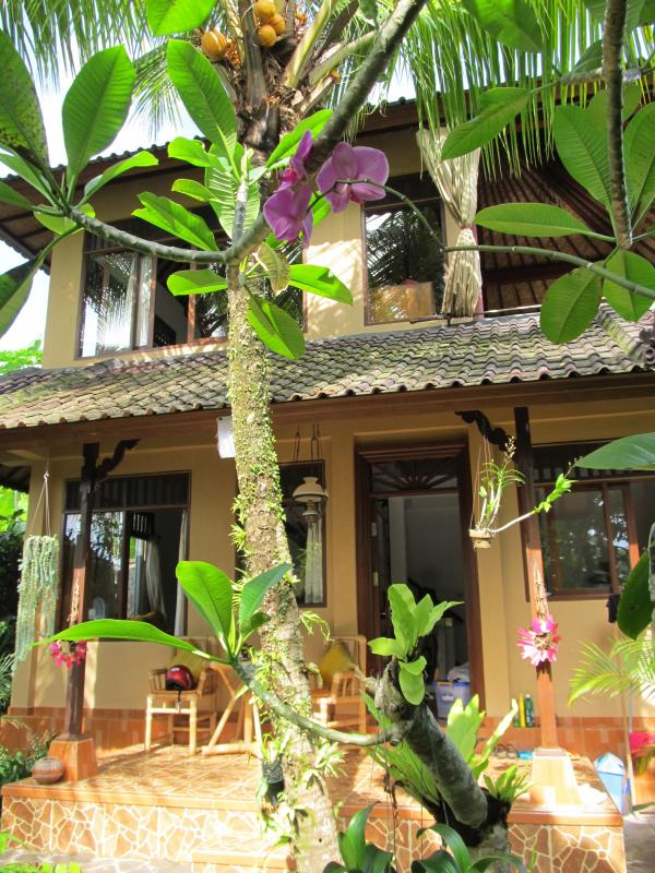 Front of house - Cute, Cozy, Colourful & Comfortable Villa - Ubud - rentals