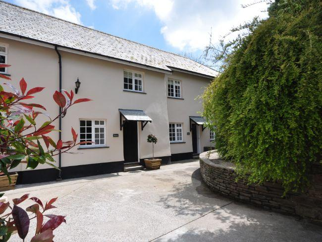 View towards the property, 1 of 9 cottages - CORF7 - Tawstock - rentals