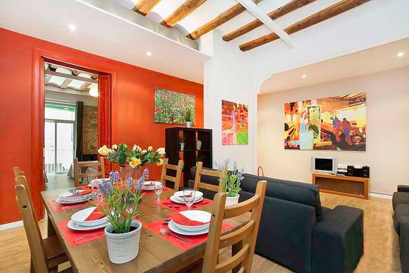 Born Montcada 4 - Large Apartment in Center of Barcelona sleeps 10, 2 bathrooms, 3 bedrooms - Image 1 - Barcelona - rentals