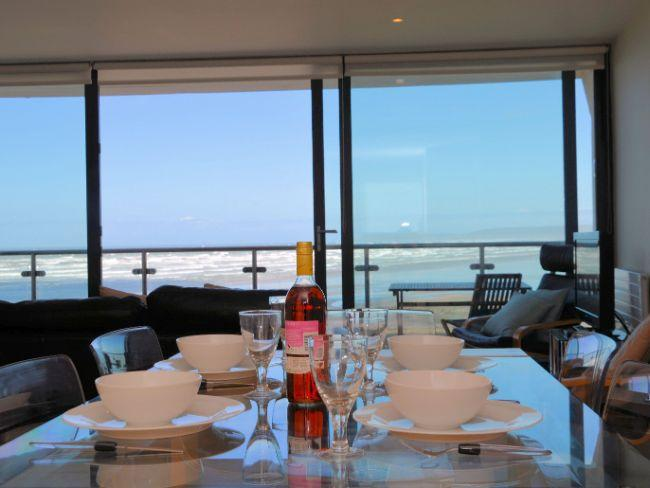 Lounge/ Dining area with sea views - SURFV - Westward Ho - rentals