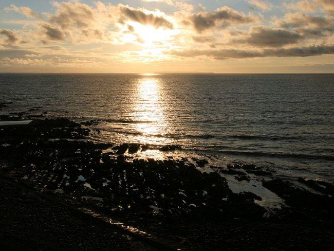Sunset from the balcony - SEREN - Westward Ho - rentals