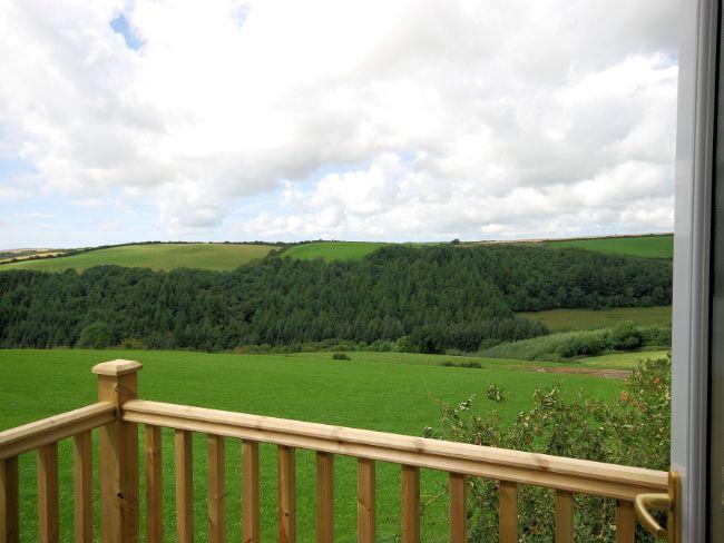 Views from the bedroom balcony - LANEE - Swimbridge - rentals