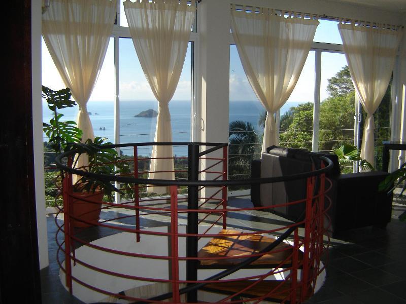 View from the living room. - Villa Manuel Antonio 13 br - Manuel Antonio National Park - rentals