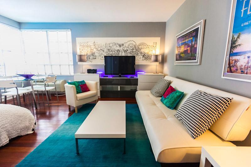 Studio in the  Art Deco district , Miami Beach - Image 1 - Miami Beach - rentals