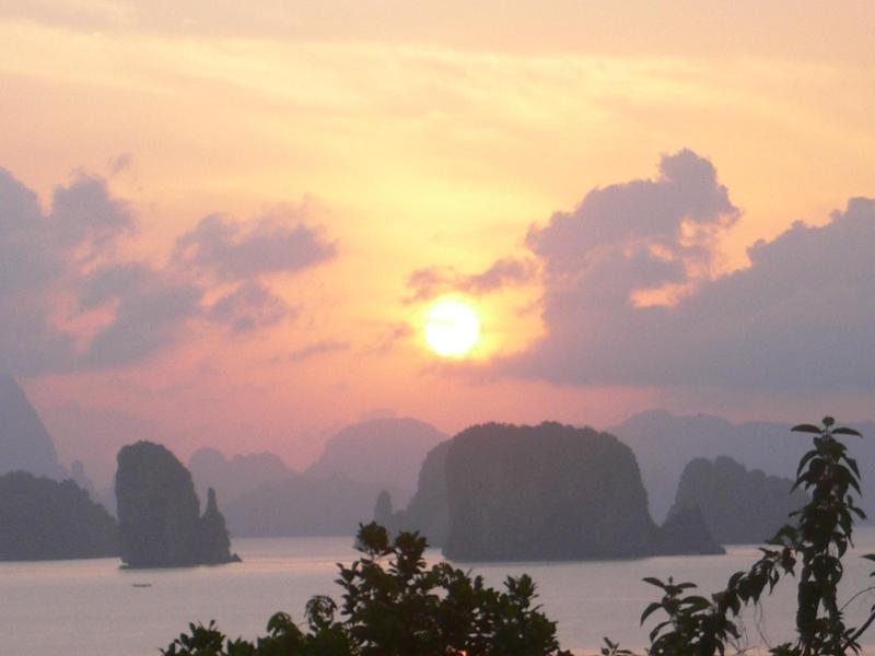 View from upper floor - Ko Yao Sunrise, tropical villa with stunning view - Koh Yao Noi - rentals