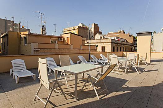 terrace - Beautiful apartment Verdi with public roof terrace - Barcelona - rentals