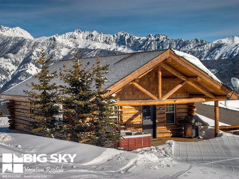 Big Sky Moonlight Basin | Cowboy Heaven Cabin 7 Cowboy Heaven Spur - Image 1 - Big Sky - rentals