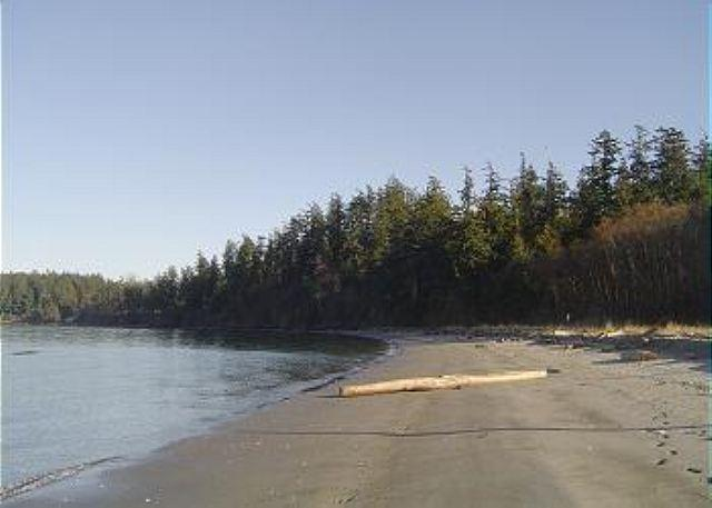 Upright Channel Park is yours to enjoy within a beautiful 1/2 mile walk through the woods. - Raven Rock on Lopez Island - Lopez Island - rentals