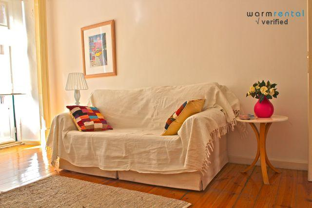 Living Room  - Boldo Apartment - Lisbon - rentals