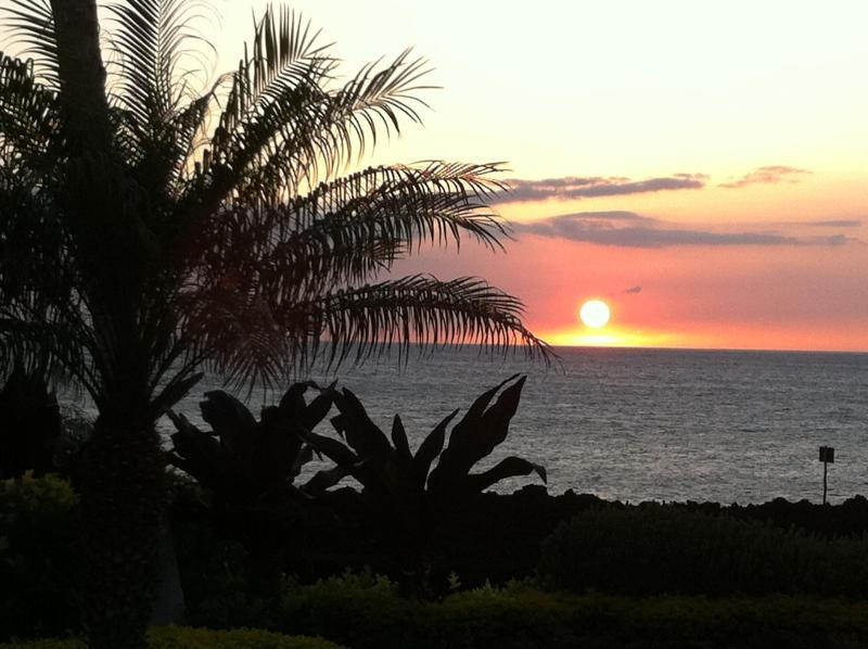 Sunset at The Ocean Club - Stunning Ocean View 3BD/2BA Condo Hali'i Kai, (7E) - Waikoloa - rentals