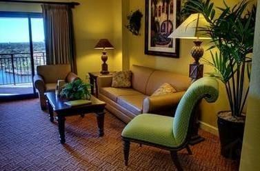 Living Area - Wyndham Bonnet Creek at Lake Buena Vista - Lake Buena Vista - rentals