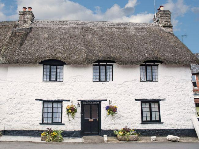 The cottage is in the heart of picture postcard Lustleigh - STAHO - Lustleigh - rentals