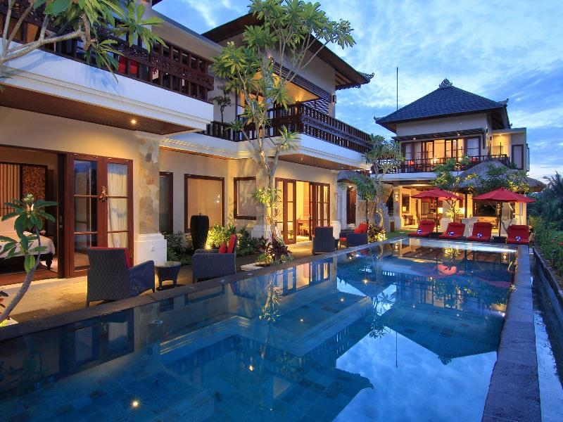 Luxury 4Bedroom Pool Villa Ubud ricefield view - Image 1 - Ubud - rentals