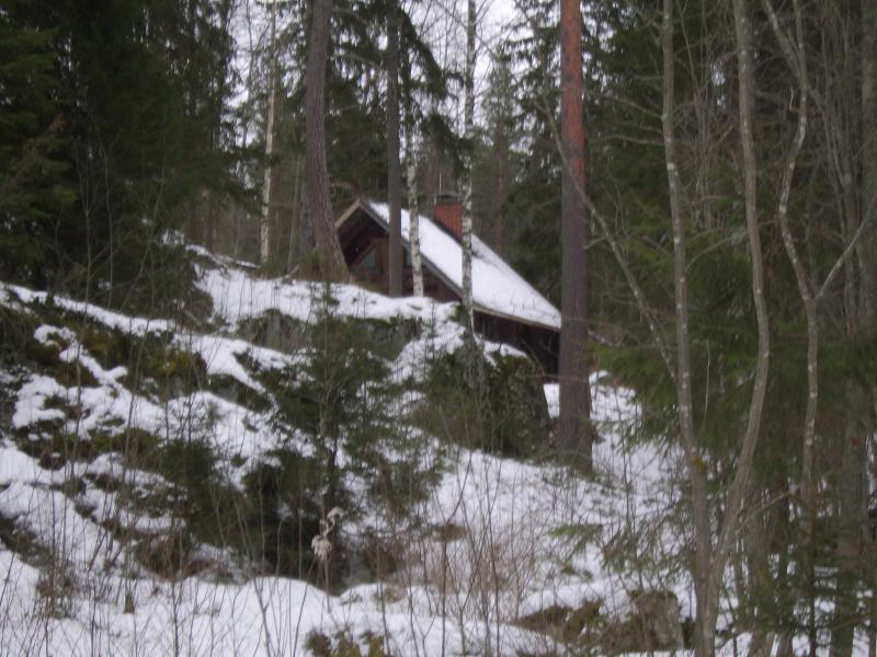 Winter time. - TRADITIONAL FINNISH LOG CABIN - Kuru - rentals
