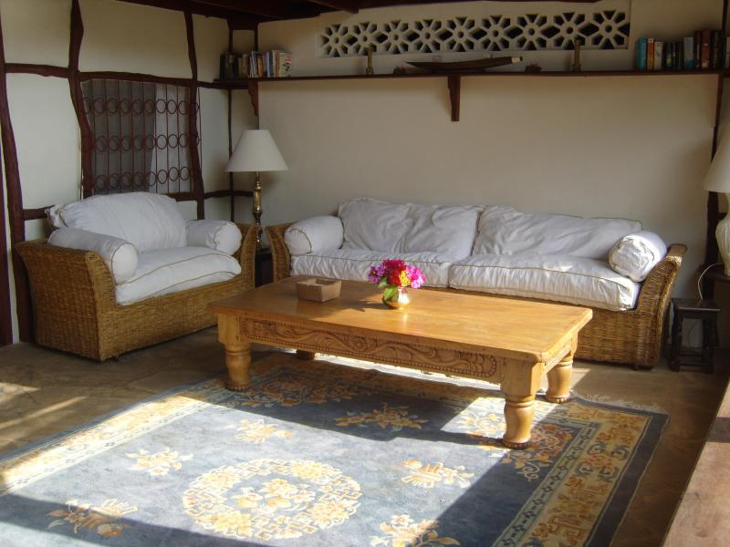 Sitting room with views to the sea - Baharini 3 Bedroom Cottage - Diani - rentals