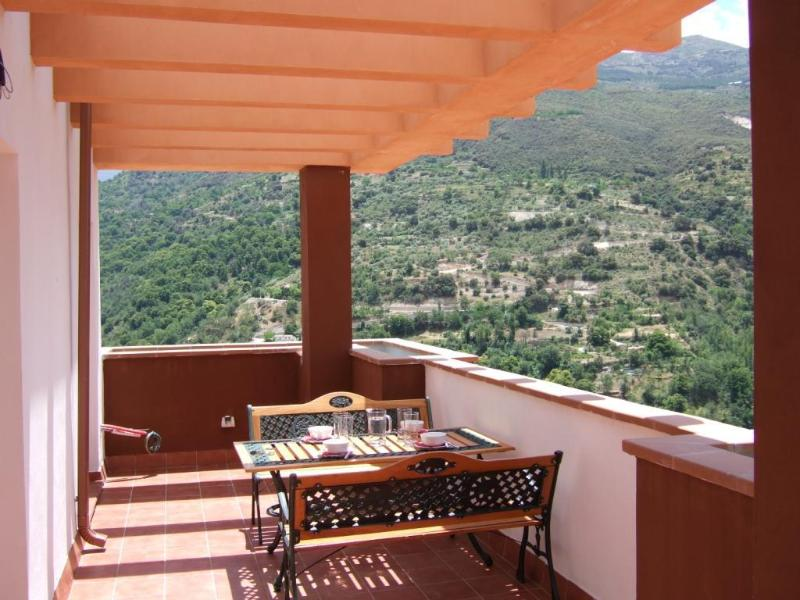 Stunning wraparound views from the terrace - Penthouse-Stunning views, ideal Granada/S Nevada - Province of Granada - rentals